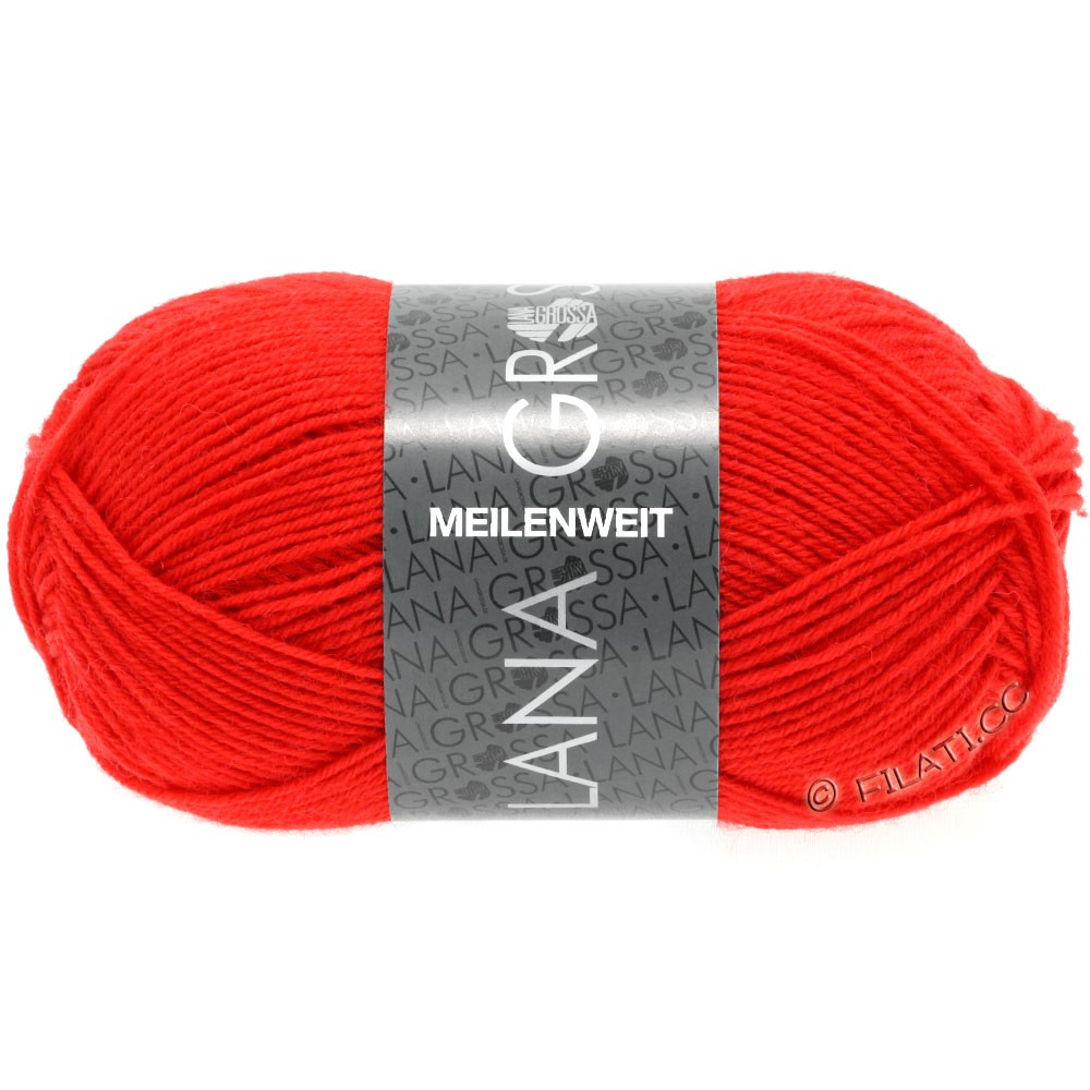 Lana Grossa MEILENWEIT 50g Uni | 1324-light red