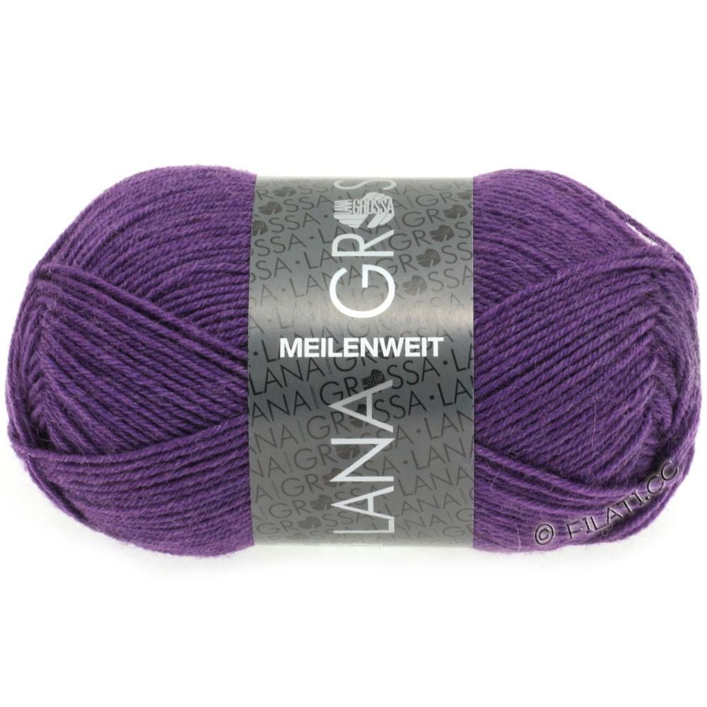 Lana Grossa MEILENWEIT 50g Uni | 1336-violet