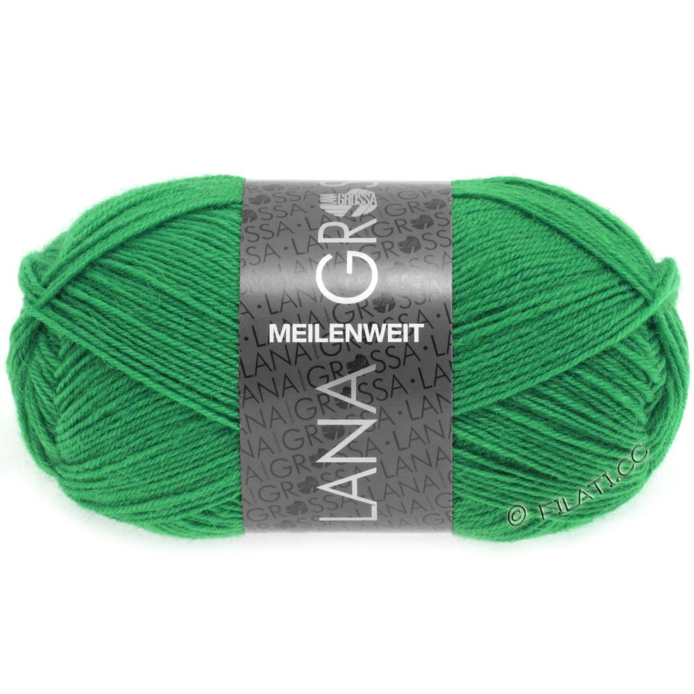 Lana Grossa MEILENWEIT 50g Uni | 1356-emerald green