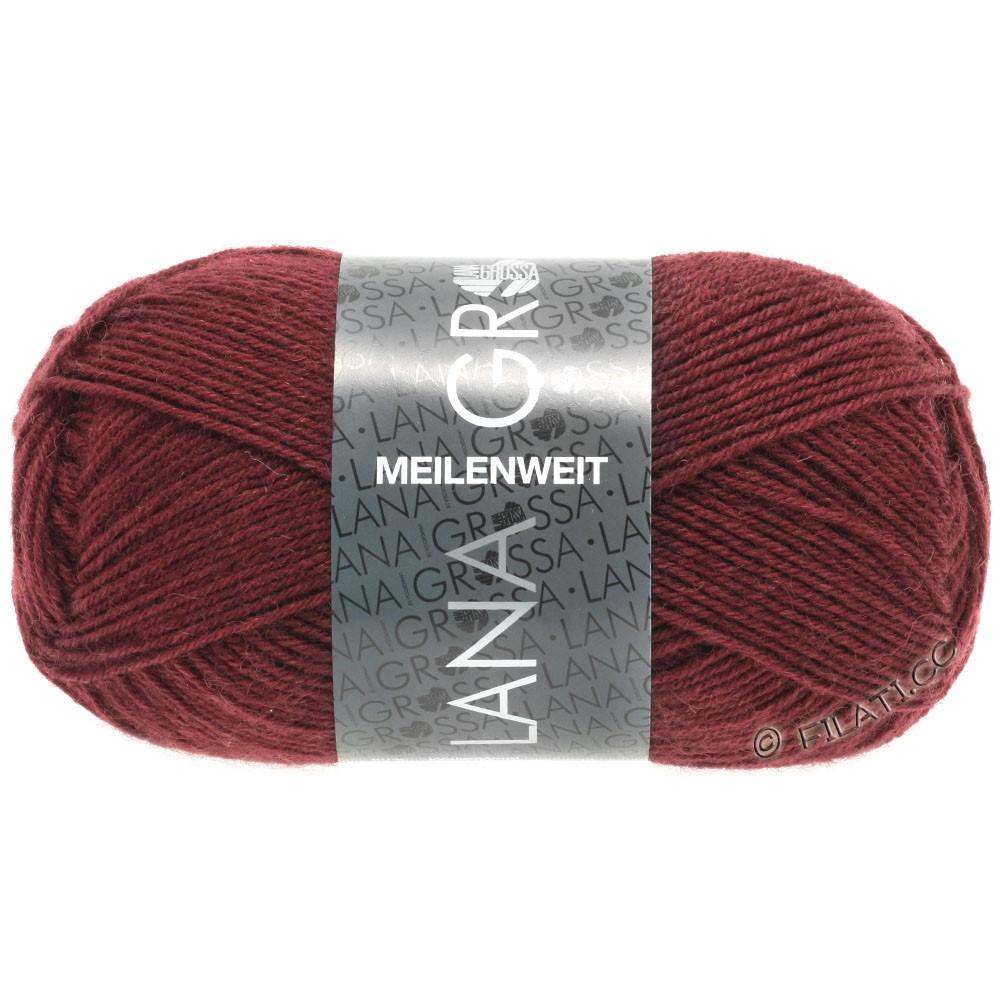 Lana Grossa MEILENWEIT 50g Uni | 1360-dark red