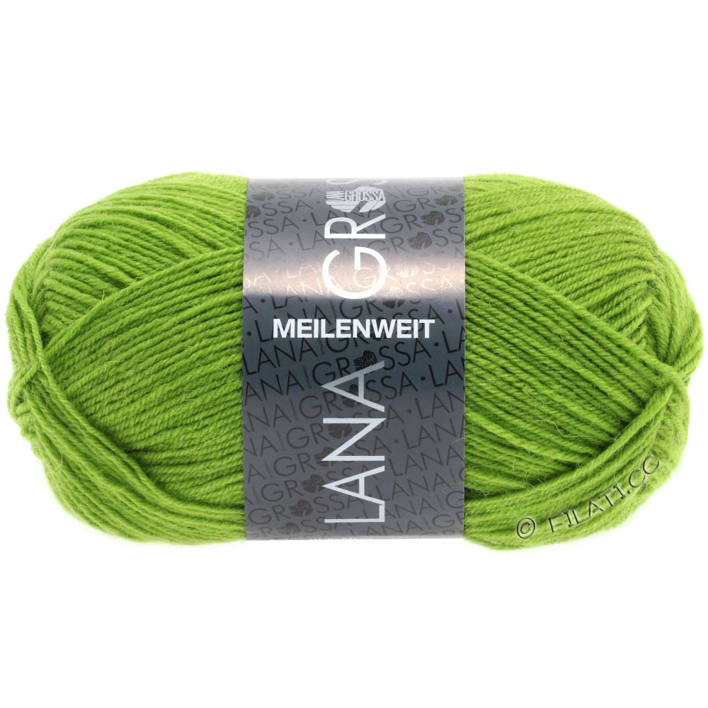 Lana Grossa MEILENWEIT 50g Uni | 1362-yellow green