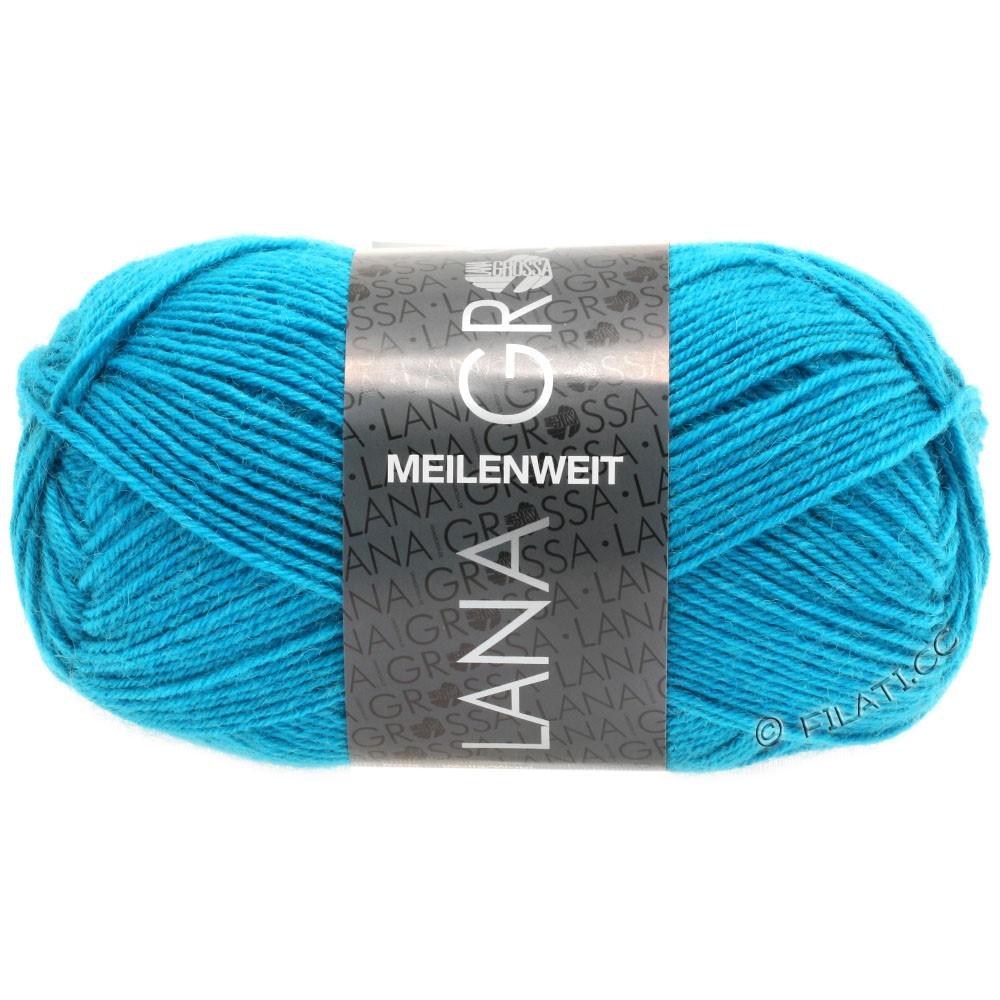 Lana Grossa MEILENWEIT 50g Uni | 1366-azure blue