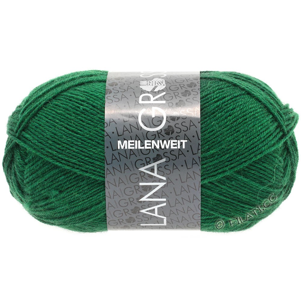 Lana Grossa MEILENWEIT 50g Uni | 1367-bottle green