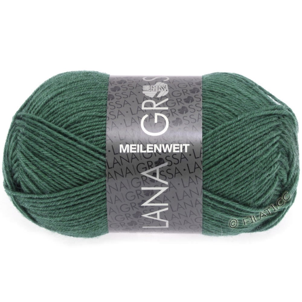 Lana Grossa MEILENWEIT 50g Uni | 1368-dark sea green