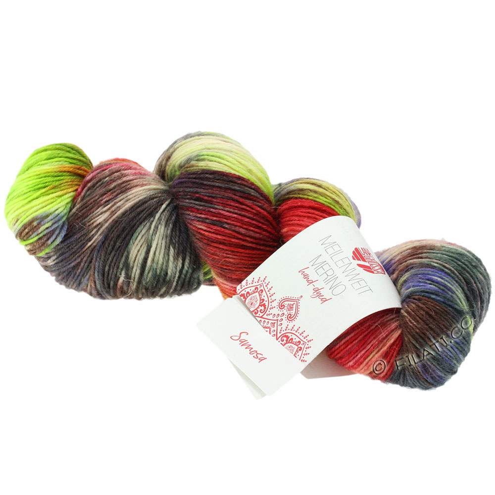301 100 g Fb Lana Grossa Meilenweit 100 Merino Hand dyed Wolle Kreativ