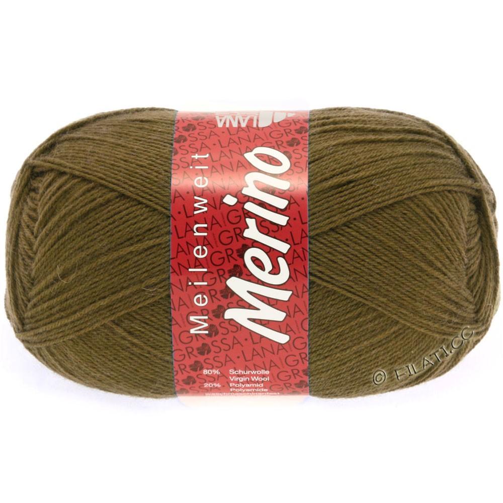 Lana Grossa MEILENWEIT 100g Merino Uni | 2039-light brown