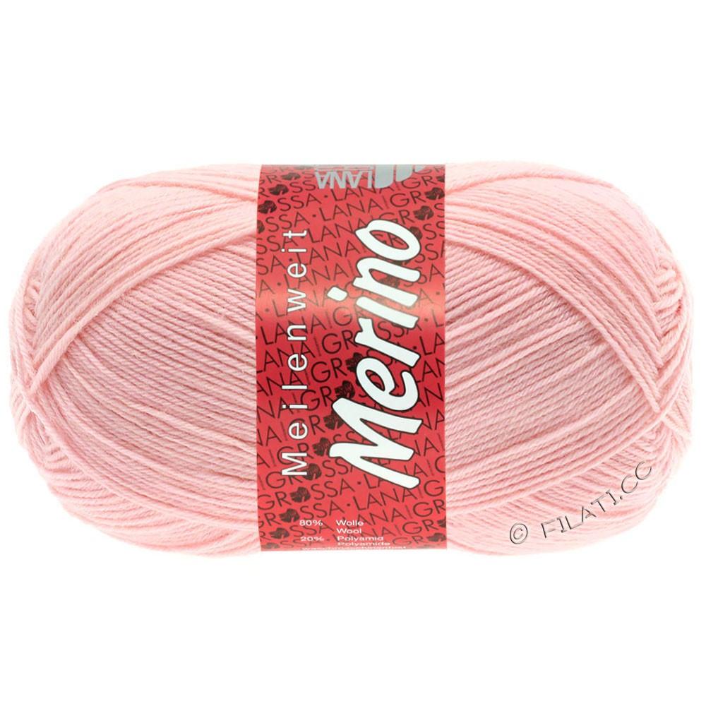Lana Grossa MEILENWEIT 100g Merino Uni | 2047-powder rose