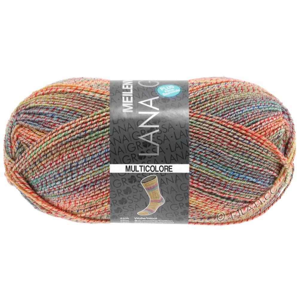 Lana Grossa MEILENWEIT 100g Cotton Stretch Print | 5734 - Multicolore-