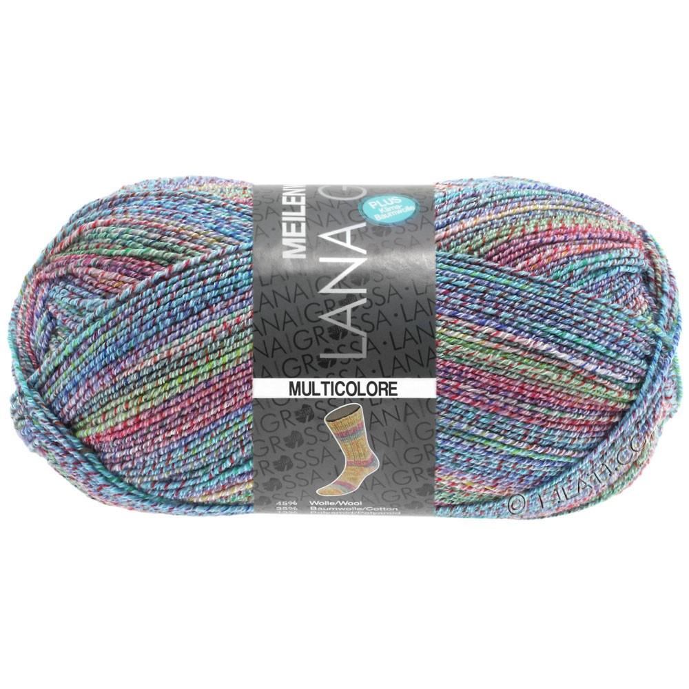 Lana Grossa MEILENWEIT 100g Cotton Stretch Print | 5738 - Multicolore-