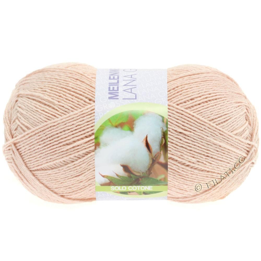 Lana Grossa MEILENWEIT 100g Solo Cotone Unito | 3454-powder pink