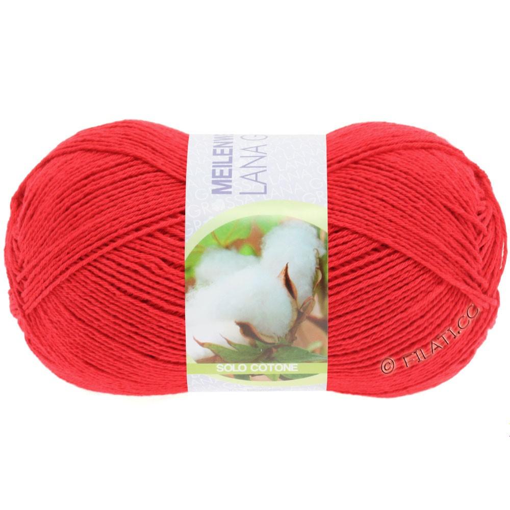 Lana Grossa MEILENWEIT 100g Solo Cotone Unito | 3455-red