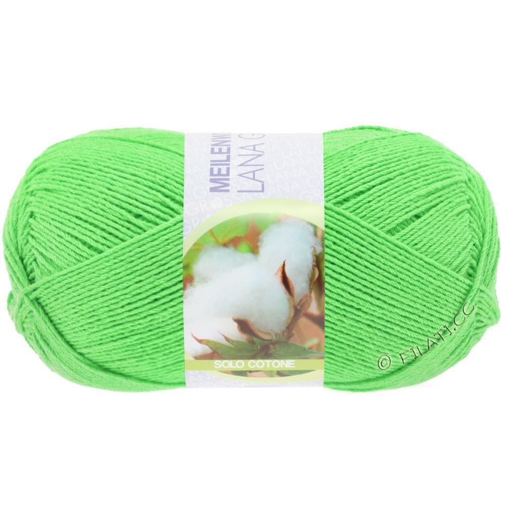 Lana Grossa MEILENWEIT 100g Solo Cotone Unito | 3457-green