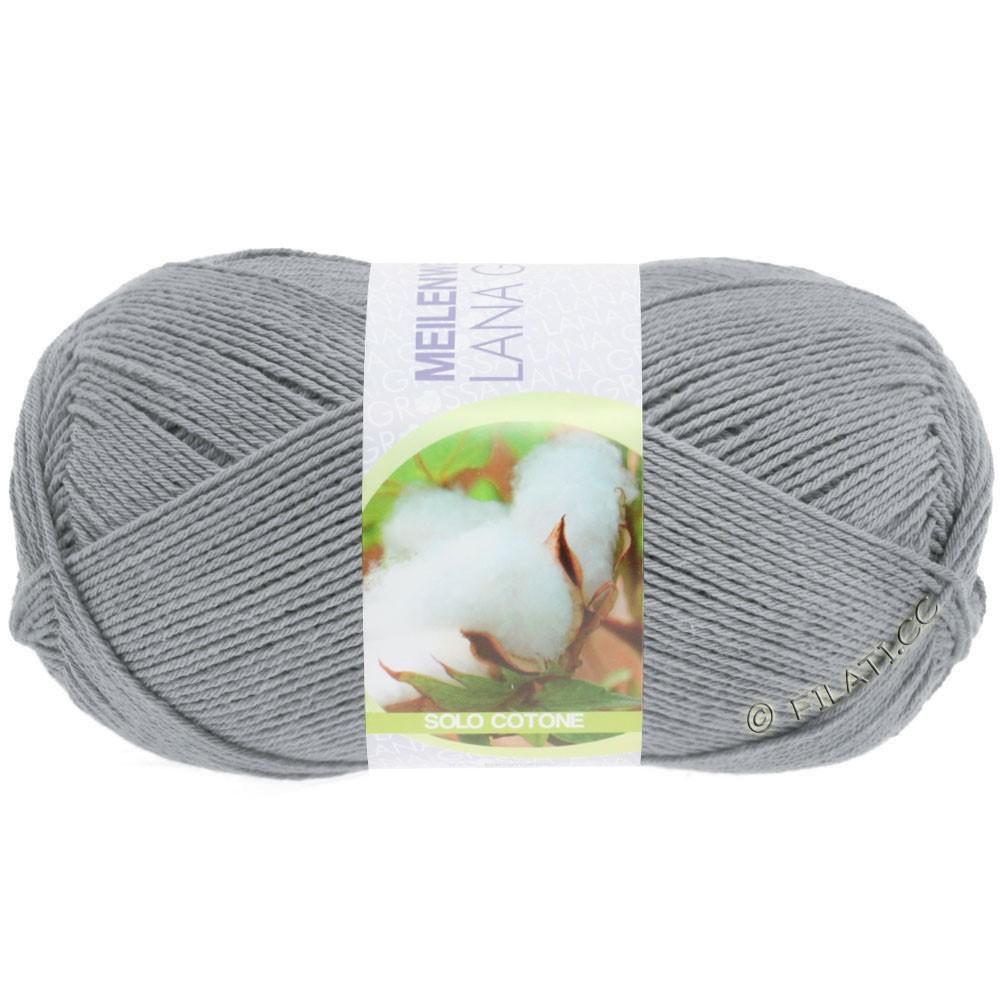 Lana Grossa MEILENWEIT 100g Solo Cotone Unito | 3459-gray
