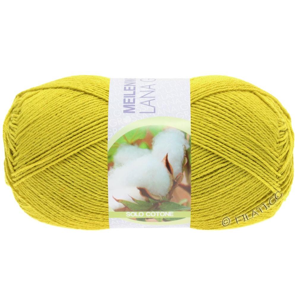 Lana Grossa MEILENWEIT 100g Solo Cotone Unito | 3465-yellow