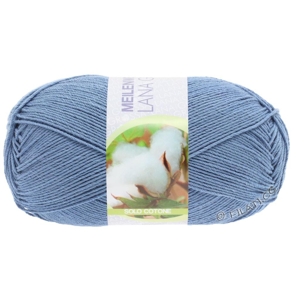 Lana Grossa MEILENWEIT 100g Solo Cotone Unito | 3470-dove blue