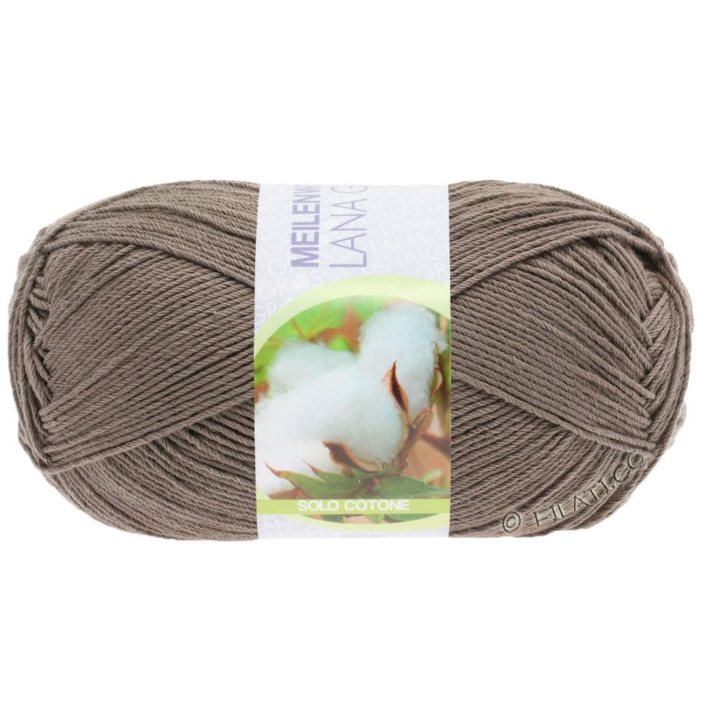 Lana Grossa MEILENWEIT 100g Solo Cotone Unito | 3471-light brown