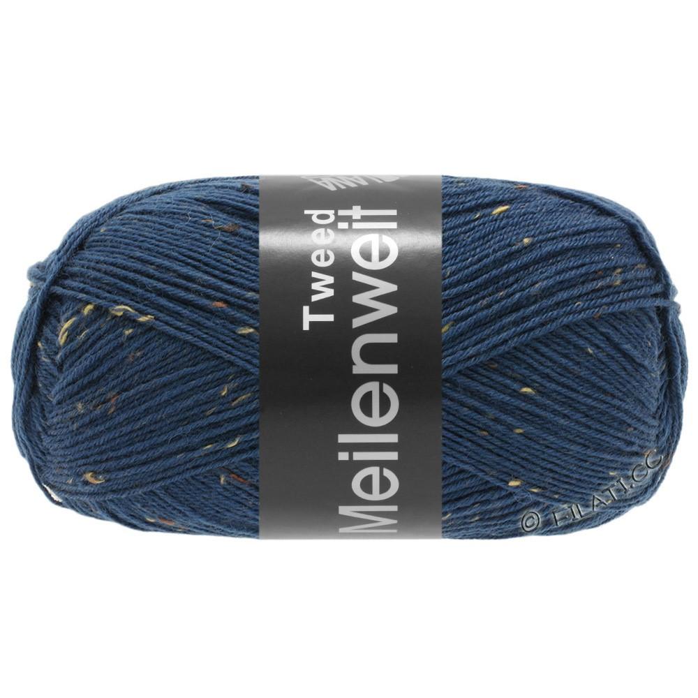 Lana Grossa MEILENWEIT 100g Tweed | 128-blue
