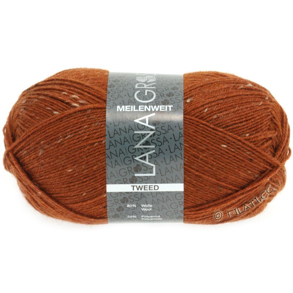 Lana Grossa MEILENWEIT 100g Tweed   147-cognac
