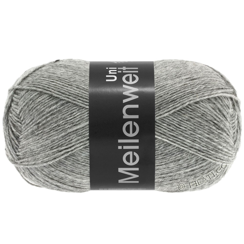 Lana Grossa MEILENWEIT 100g  Uni | 1103-light gray