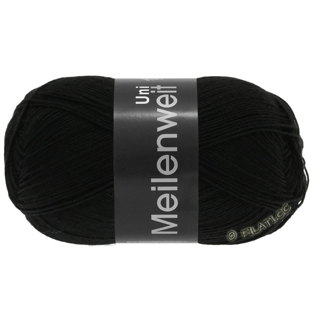 Lana Grossa MEILENWEIT 100g  Uni | 1106-black