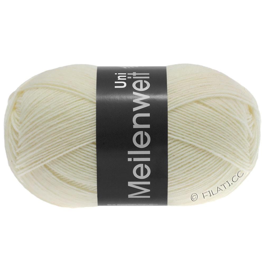 Lana Grossa MEILENWEIT 100g  Uni | 1113-nature white