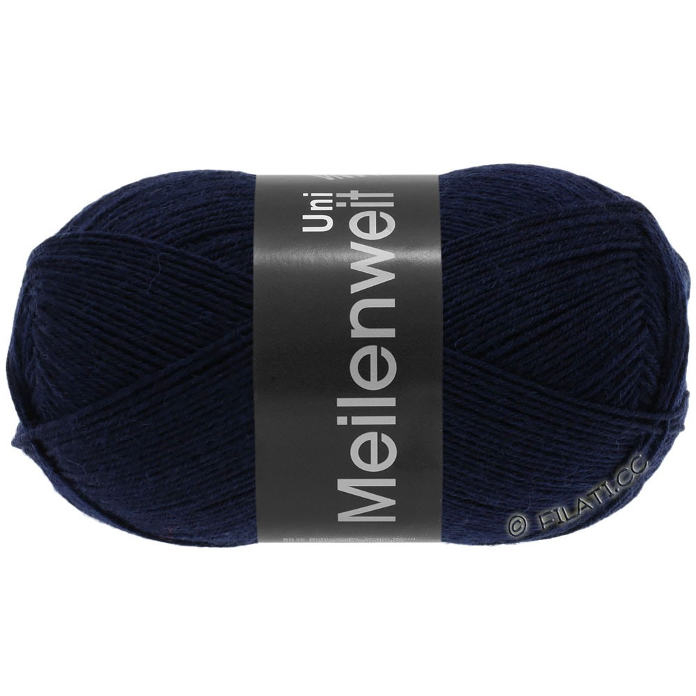 Lana Grossa MEILENWEIT 100g  Uni | 1141-dark blue