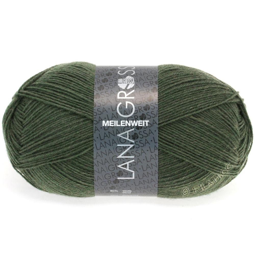Lana Grossa MEILENWEIT 100g  Uni | 1350-olive green