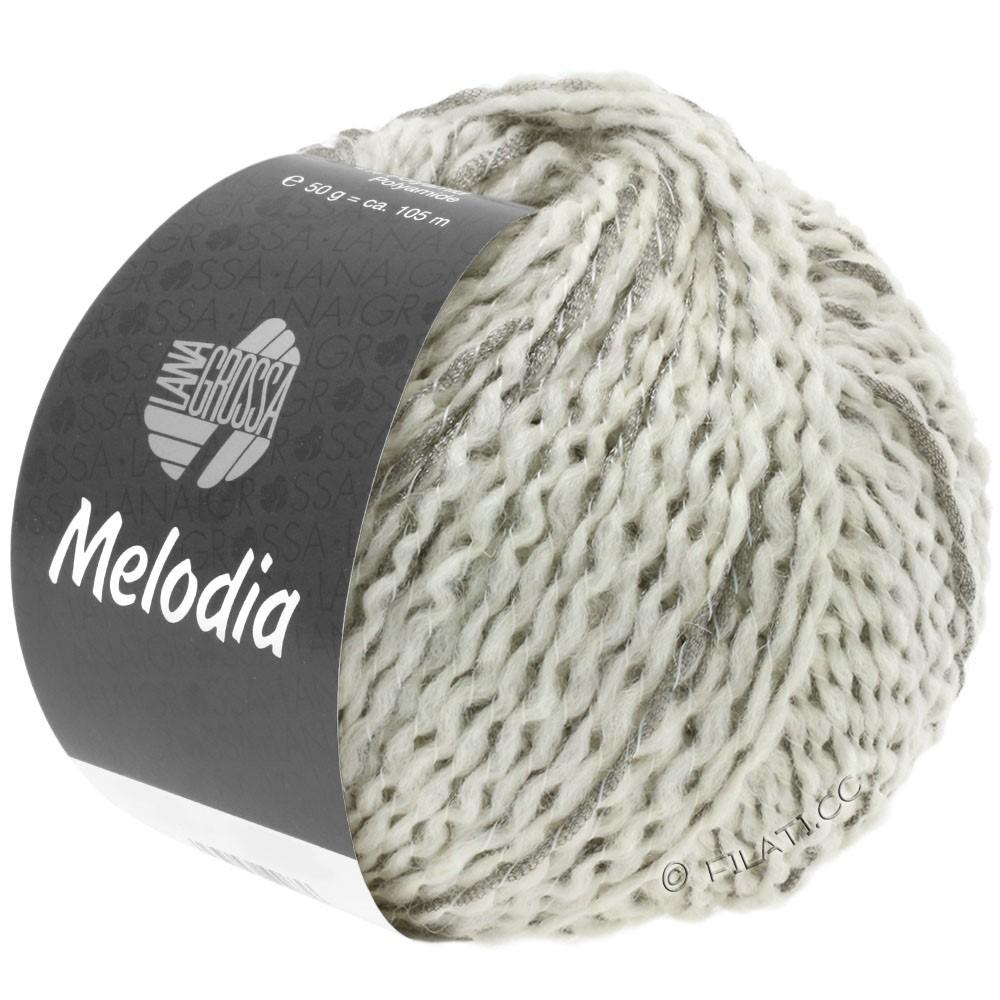 Lana Grossa MELODIA | 01-white/silver