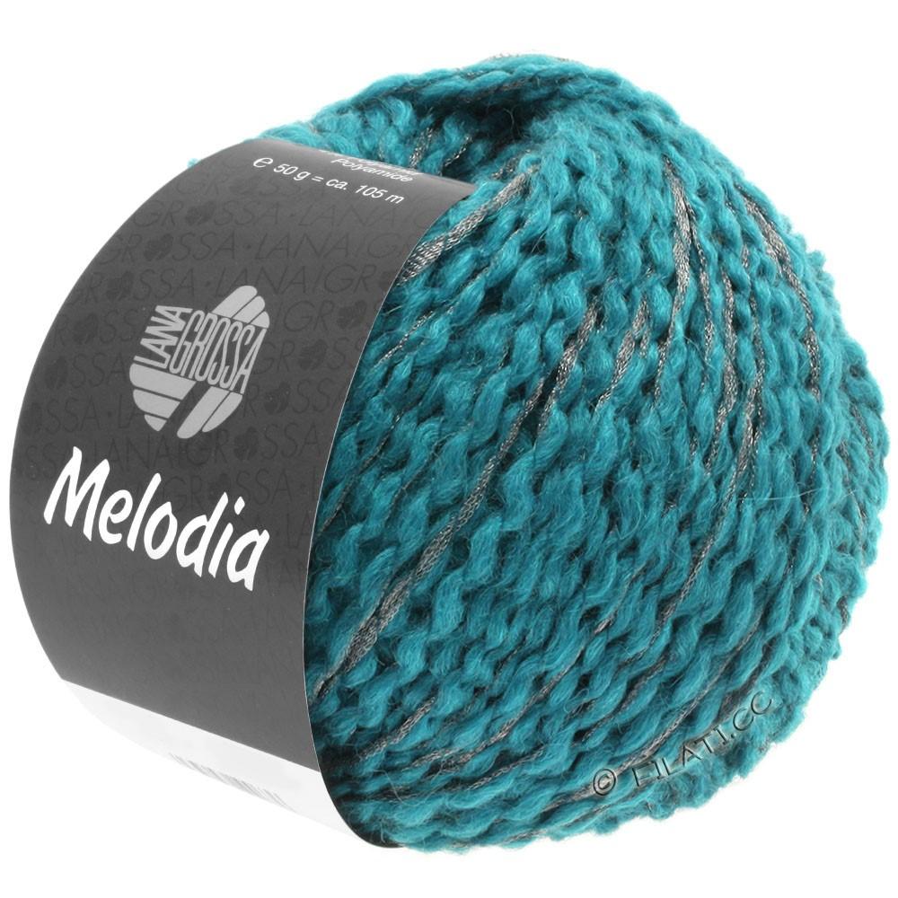Lana Grossa MELODIA | 11-azure blue/silver