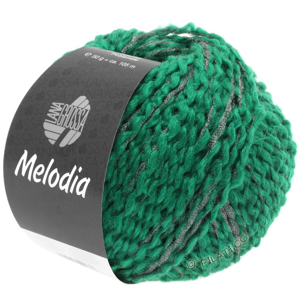 Lana Grossa MELODIA | 12-opal green/silver