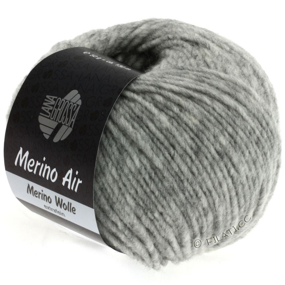 Lana Grossa MERINO AIR | 01-light gray mottled