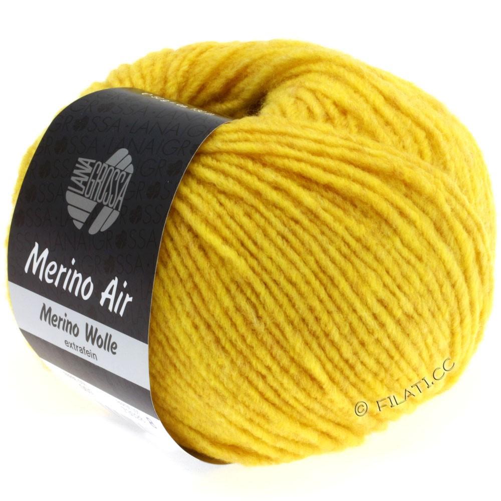 Lana Grossa MERINO AIR | 05-saffron yellow
