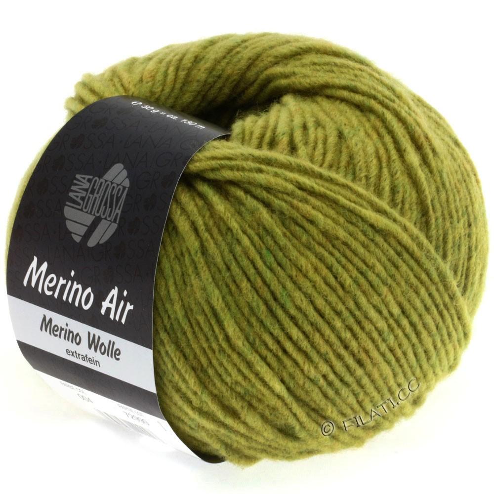 Lana Grossa MERINO AIR | 06-olive yellow mottled