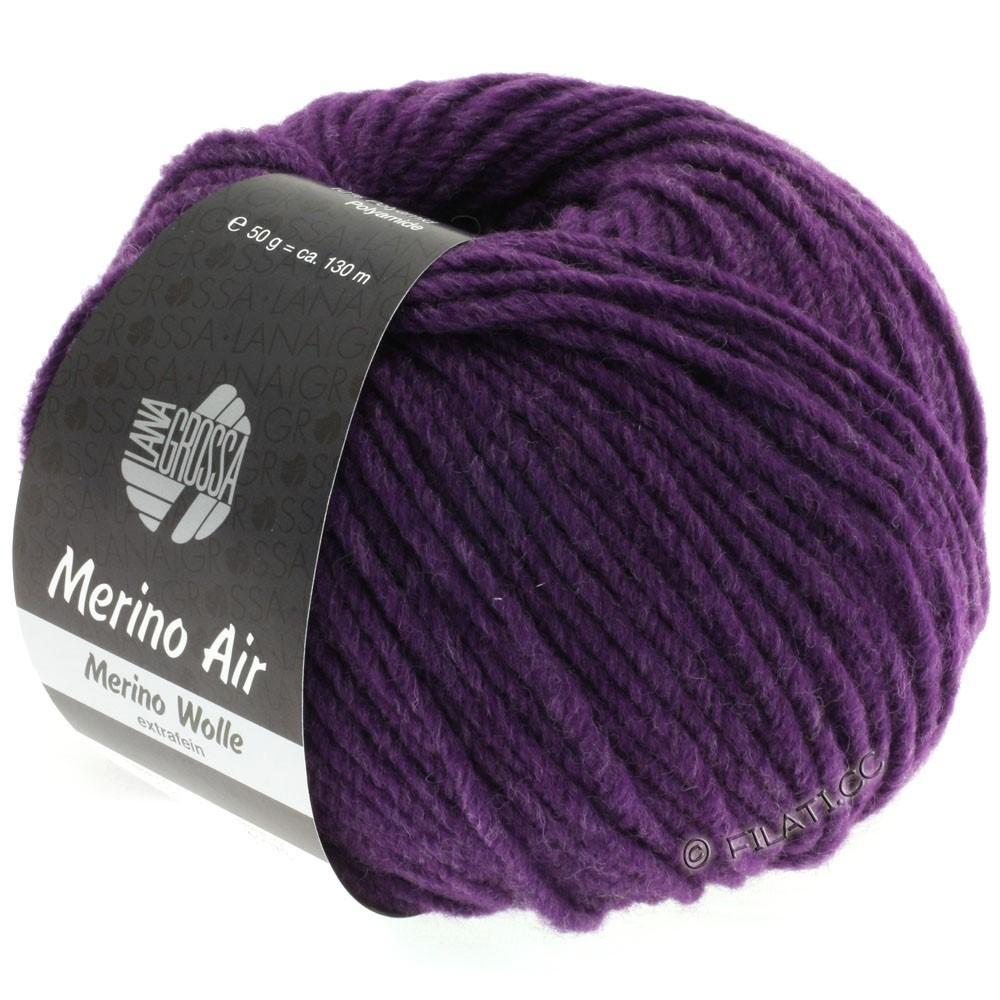 Lana Grossa MERINO AIR | 22-aubergine