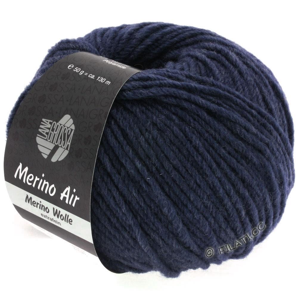 Lana Grossa MERINO AIR | 32-midnight blue