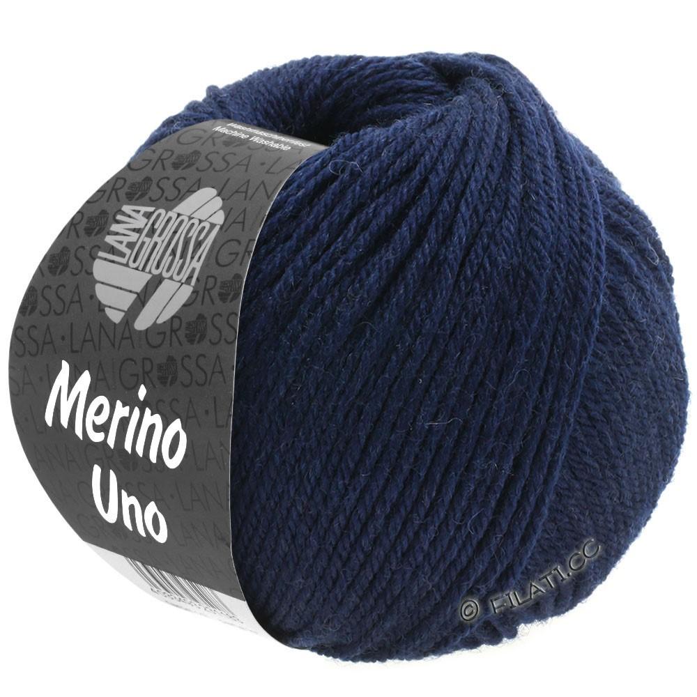 Lana Grossa MERINO UNO | 04-night blue