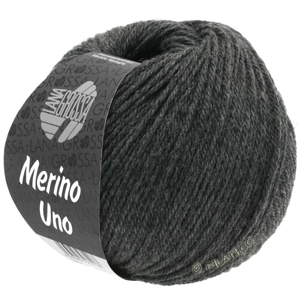 Lana Grossa MERINO UNO | 11-dark gray