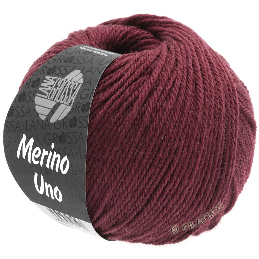 Lana Grossa MERINO UNO | 16-wine red