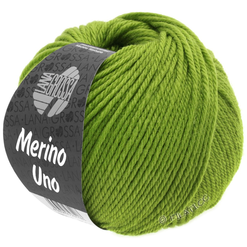 Lana Grossa MERINO UNO | 21-apple green