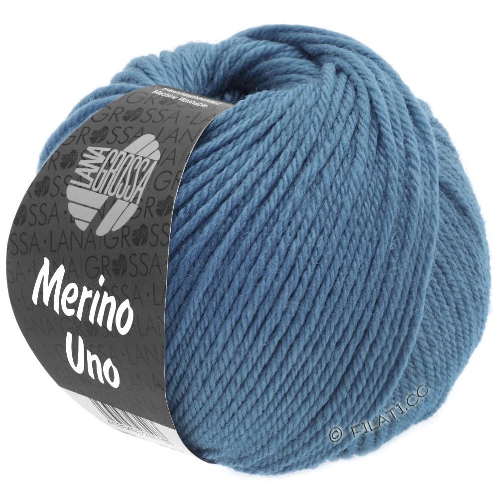 Lana Grossa MERINO UNO | 27-pigeon blue