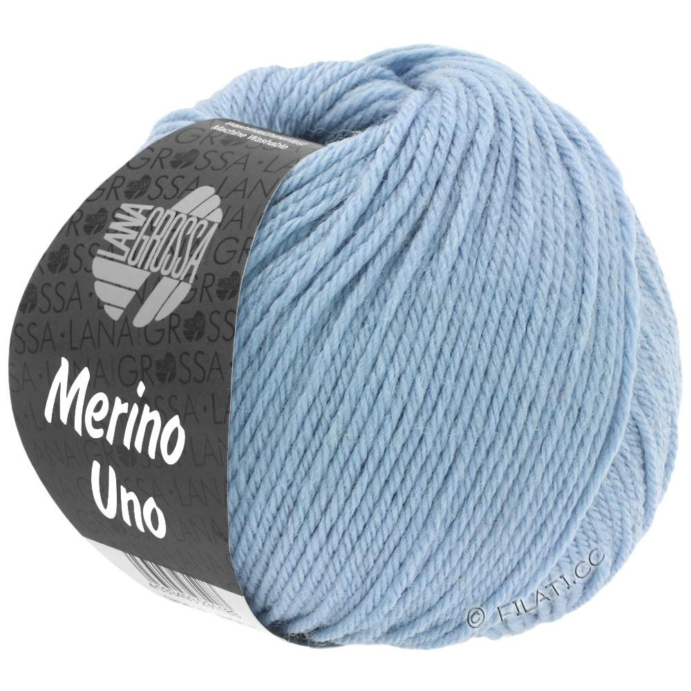 Lana Grossa MERINO UNO | 28-gray blue