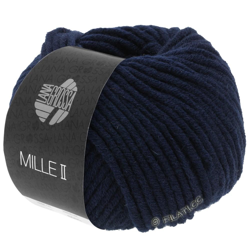 Lana Grossa MILLE II  Uni | 012-midnight blue