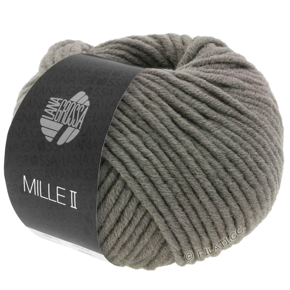 Lana Grossa MILLE II  Uni | 042-gray brown