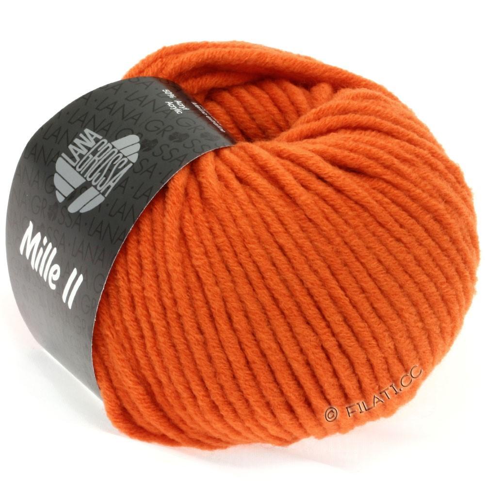 Lana Grossa MILLE II  Uni | 051-orange