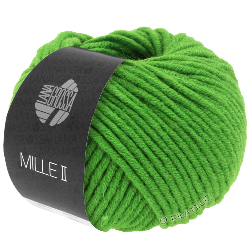 Lana Grossa MILLE II  Uni | 071-green