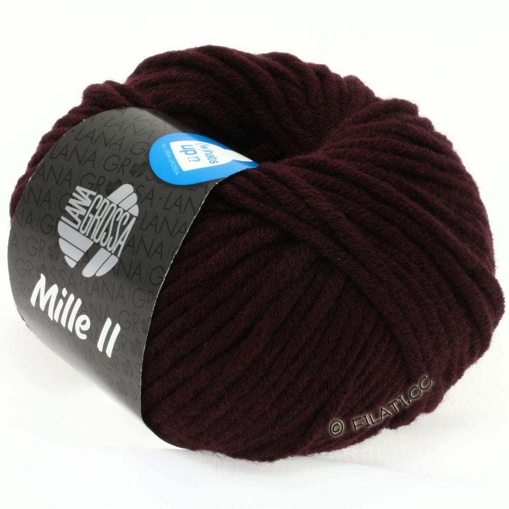 Lana Grossa MILLE II  Uni | 073-blackberry
