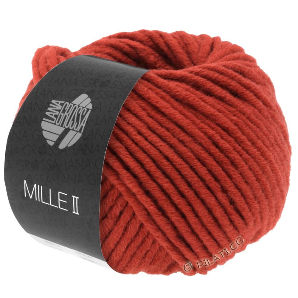 Lana Grossa MILLE II  Uni | 082-brick red
