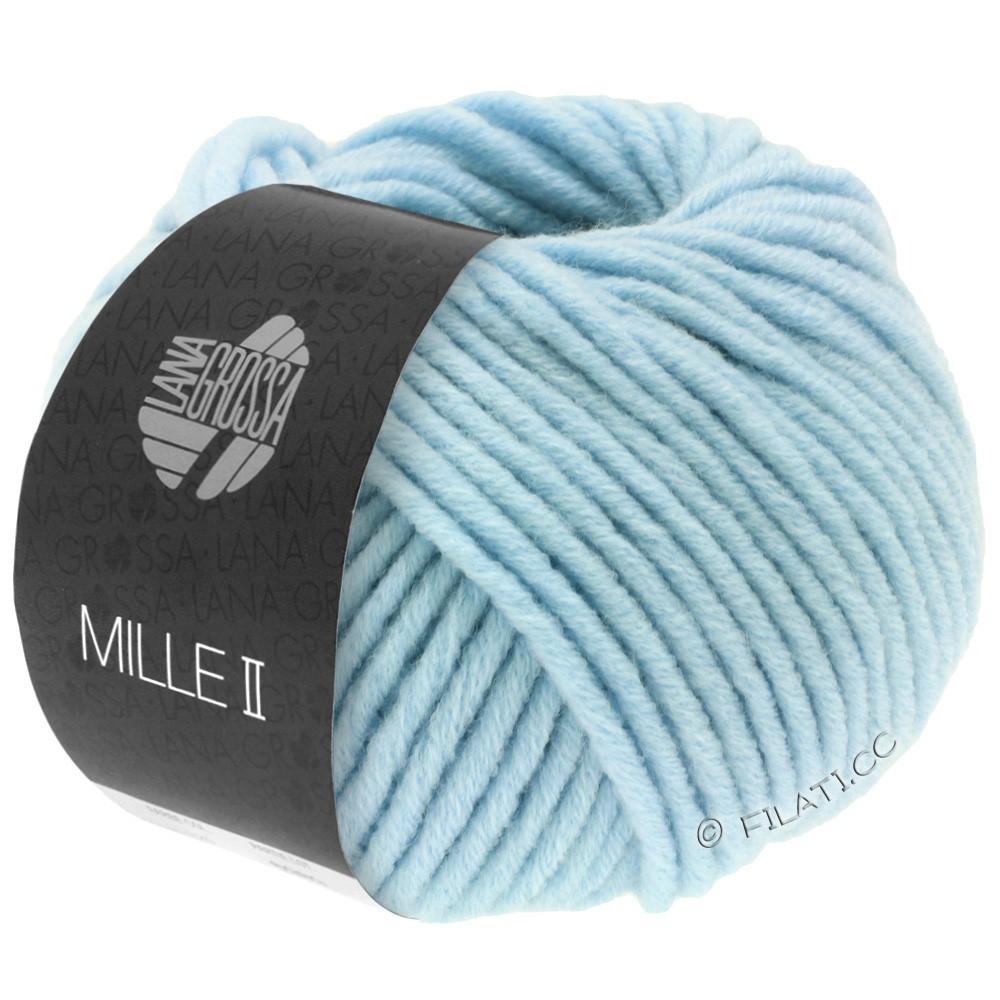 Lana Grossa MILLE II  Uni | 085-light blue