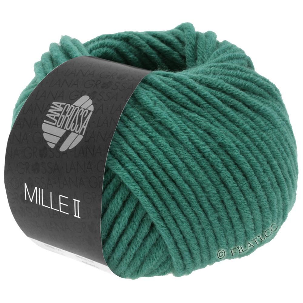 Lana Grossa MILLE II  Uni | 087-jade green