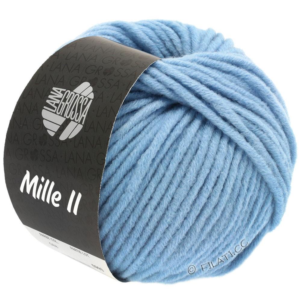 Lana Grossa MILLE II  Uni | 088-sky blue